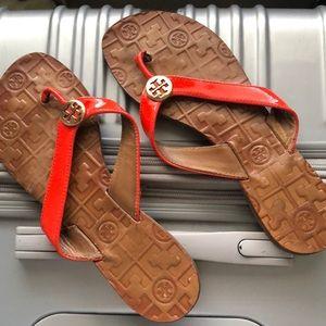 Tory Burch orange 🍊 Sandals
